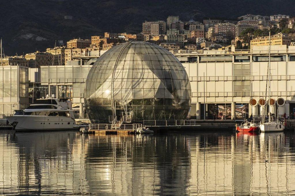 Genova Biosfera Renzo Piano Porto Antico